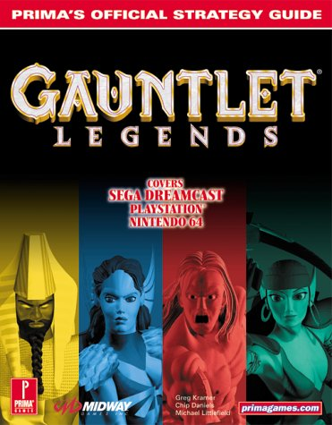 9780761531012: Gauntlet Legends: Prima's Official Strategy Guide