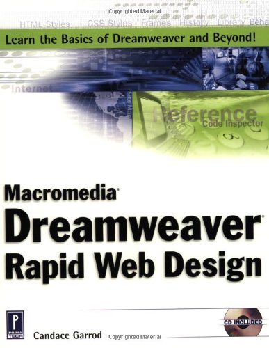 9780761531371: Macromedia Dreamweaver Rapid Web Design (Miscellaneous)