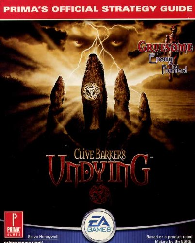 9780761532224: Clive Barker's Undying: Prima's Official Strategy Guide