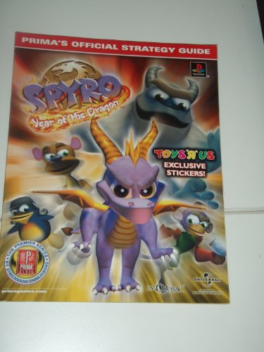 9780761533207: Spyro: Year of the Dragon W/Stickers for Toys (Prima's Official Strategy Guide)