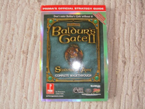Baldur's Gate II Special Cover W/Poster Insert (UK) (Prima's Official Strategy Guide...