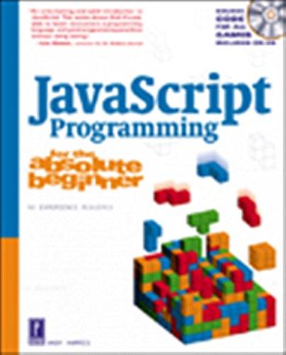 9780761534105: JavaScript Programming for the Absolute Beginner (Absolute Beginners)
