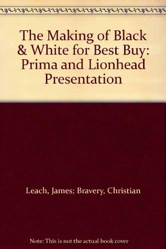 9780761536253: The Making of Black & White for Best Buy: Prima and Lionhead Presentation
