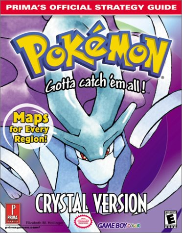9780761536666: Pokemon: Crystal Version (Prima's Official Strategy Guide)