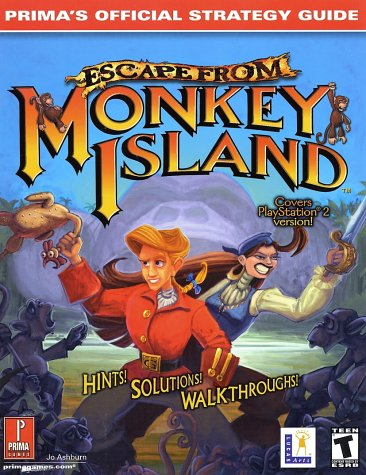 9780761536796: Escape from Monkey Island: Prima's Official Strategy Guide