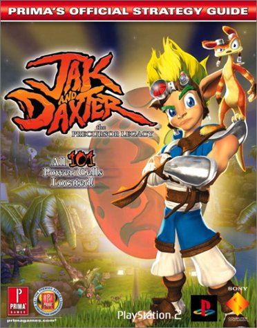 9780761536895: Jak and Daxter: The Precursor Legacy: Prima's Official Strategy Guide