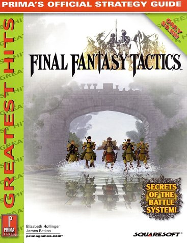 9780761537335: Final Fantasy Tactics: The Official Strategy Guide (Greatest Hits)