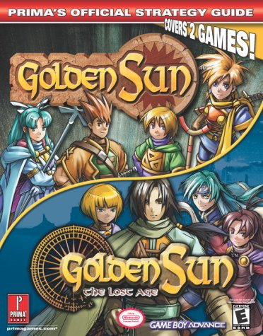 9780761541806: Golden Sun & Golden Sun 2: The Lost Age (Prima's Official Strategy Guide) (v. 1 & 2)