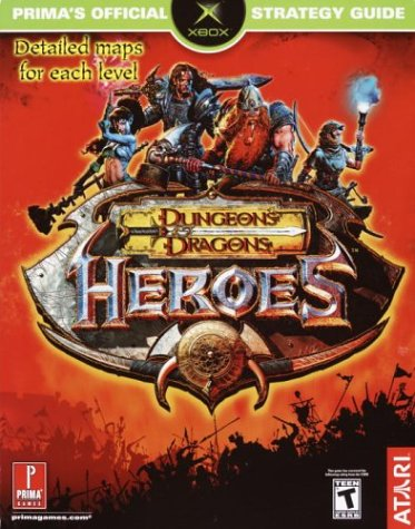 9780761541998: Dungeons & Dragons Heroes (Prima's Official Strategy Guide)