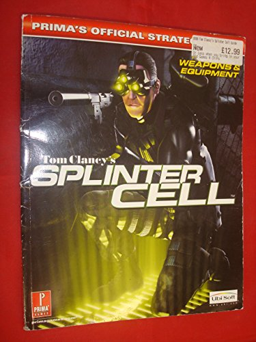 9780761542049: Tom Clancy's Splinter Cell: Official Strategy Guide