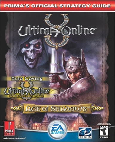 9780761542513: Ultima Online: Age of Shadows (Prima's Official Strategy Guide)