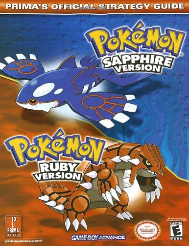 Pokemon Sapphire Version / Pokemon Ruby Version 9780761542568 Defeat Team Aqua and Team Magma! ·Tips for winning the Pokémon Contests ·Locations to all Secret Bases and Battle Towers ·Thorough Pokédex, featuring Ruby and Sapphire Pokémon, with locations, statistics, and skills ·Strategy to win all 2-on-2 battles and beat all enemy Pokémon Trainers ·Complete walkthrough of the vast new Pokémon world, including all cities, towns, streets, and dungeons ·Detailed moves list ·Tips to capturing, evolving, and customizing your Pokémon ·Detailed charts for Technical and Hidden Machines