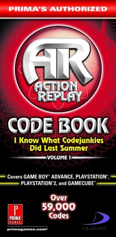 9780761542698: Action Replay Code Book: I Know What Codejunkie Did Last Summer: 1