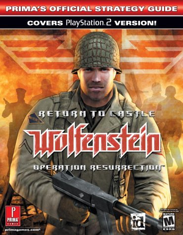 9780761542711: Return to Castle Wolfenstein: Operation Resurrection : Prima's Official Strategy Guide