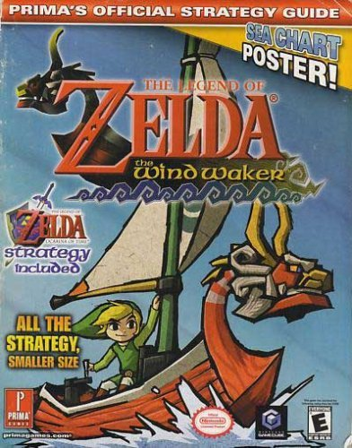 9780761543046: Legend of Zelda The Wind Waker Prima's Official Strategy Guide with Ocarina of Time Strategy
