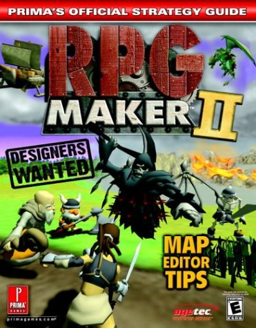 9780761543565: RPG Maker 2 (Prima's Official Strategy Guide)
