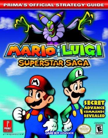 9780761544234: Mario & Luigi Superstar Saga: Prima's Official Strategy Guide