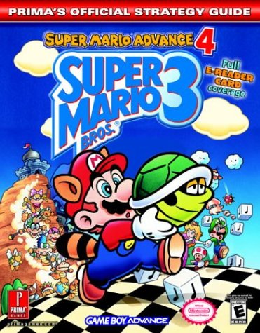 9780761544258: Super Mario Advance 4: Super Mario Bros. 3: Super Mario Advance 4 - Official Strategy Guide