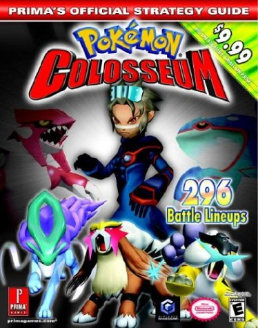 9780761544296: Pokemon Colosseum (Prima's Official Strategy Guide)