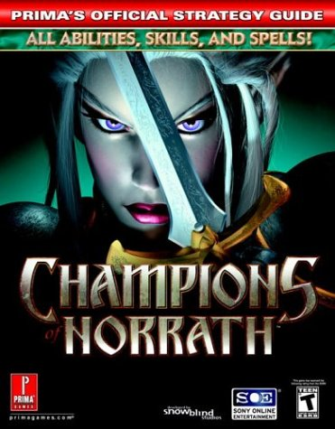 9780761544418: Champions of Norrath (Prima's Official Strategy Guide)