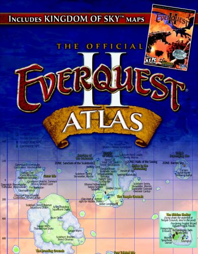 9780761545057: EverQuest II Atlas: The Official Strategy Guide