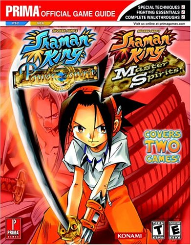 9780761545651: Shaman King: Master of Spirits (GBA) and Power of the Spirits (PS2) (Prima Official Game Guide)