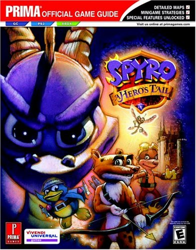9780761545750: Spyro: A Hero's Tail (Prima Official Game Guide)