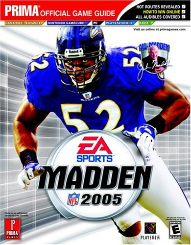 9780761546306: Madden NFL 2005 (Prima Official Game Guide)