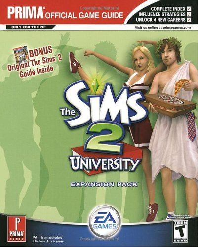 9780761546368: The Sims 2 University: Prima Official Strategy Guide : Expansion Pack
