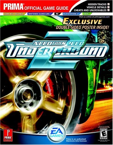 9780761546399: Need for Speed: Underground 2: Prima Official Game Guide: The Official Strategy Guide