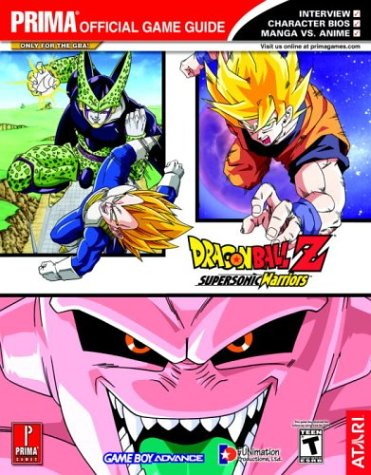 9780761546757: Dragon Ball Z: Supersonic Warriors (Prima Official Game Guide)