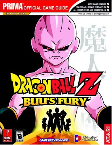 9780761546771: Dragon Ball Z: Buu's Fury (Prima Official Game Guide)