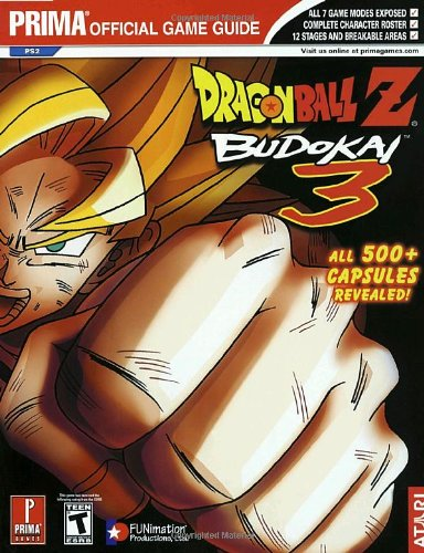 9780761546795: Dragon Ball Z: Budokai 3: Prima Official Game Guide