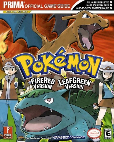 9780761547082: Pokemon Leafgreen Version and Firered Version: Prima Official Game Guide