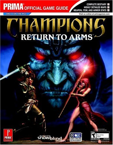 9780761549994: Champions: Return to Arms (Prima Official Game Guide)
