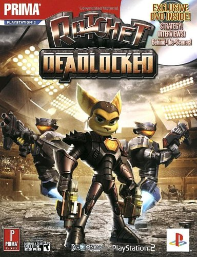 9780761552048: Ratchet: Deadlocked (with DVD) (Prima Official Game Guide)