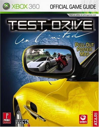 9780761552512: Test Drive Unlimited: Prima Official Game Guide [With Pull-Out Map]
