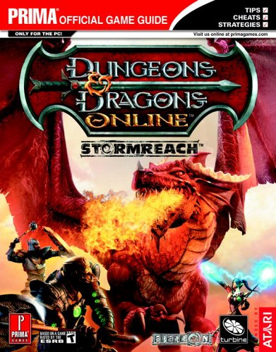 9780761553328: Dungeons & Dragons Online: Stormreach - Quest and Class Handbook (Prima Official Game Guide)