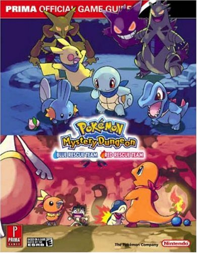 9780761553823: Pokemon Mystery Dungeon Strategy Guide: Blue Rescue Team, Red Rescue Team [With Poster]: The Official Strategy Guide (Prima Official Game Guides)