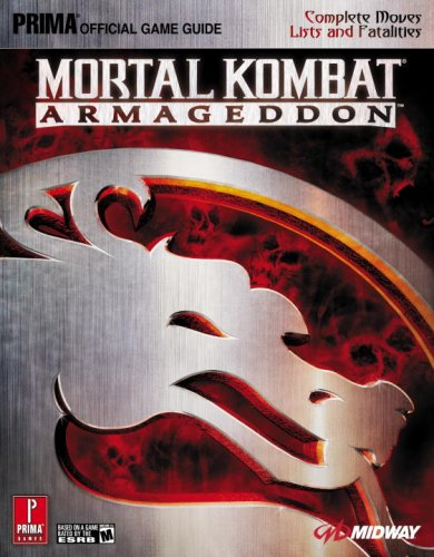 9780761554486: Mortal Kombat: Armageddon: Prima Official Game Guide: Official Strategy Guide