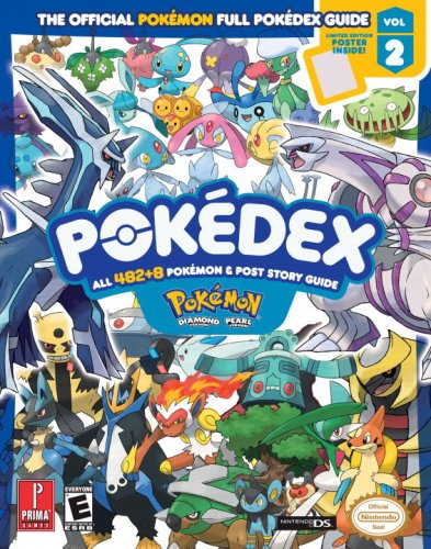 9780761556350: Pokemon Diamond & Pokemon Pearl Pokedex: Prima Official Game Guide [With Limited Edition Poster]: 2 (Prima Official Game Guides: Pok�mon)