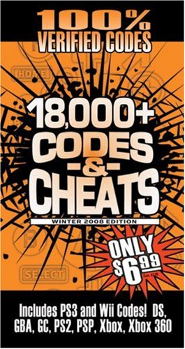 9780761556688: Codes & Cheats Winter 2008 (100% Verifed Codes): Prima Games Code Book (Codes & Cheats) (Codes & Cheats: Prima Official Game Guide)