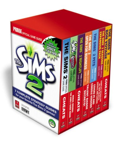 9780761557708: Sims 2 Box Set: Prima Official Game Guide