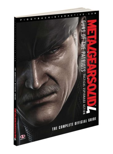 9780761559696: Metal Gear Solid 4, Guns of the Patriots Tactical Espionage Action: The Complete Official Guide