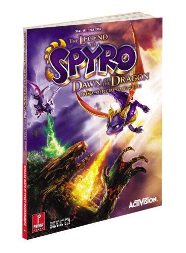 9780761560708: The Legend of Spyro: Dawn of the Dragon: Prima Official Game Guide (Prima Official Game Guides)