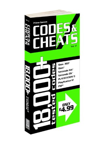 Codes and Cheats: v. 17 (0761560947) by Prima Games