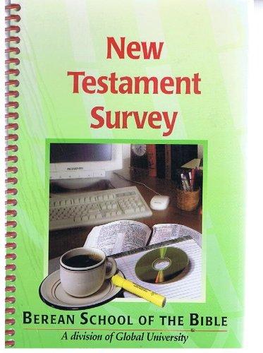 9780761703969: New Testament Survey