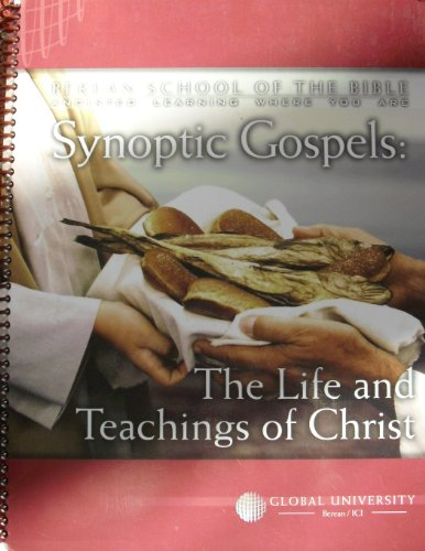 9780761708933: Synoptic Gospels: The Life and Teachings of Christ