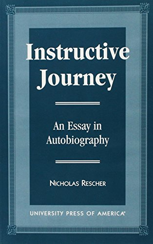 9780761805861: Instructive Journey: An Essay in Autobiography