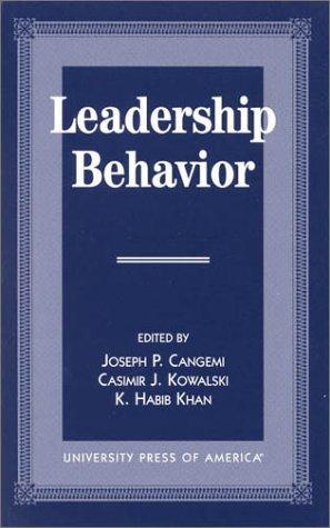9780761809418: Leadership Behavior